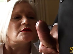 Lacey Starr Striking Her Granny Labia