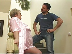 Granny gets romped as a punishment