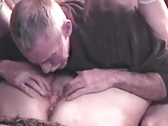 Amateur Granny & Hub having fun