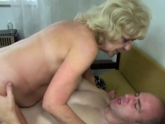 65+ hot gilf getting off