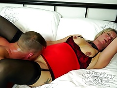 Mature tramp mom fucked by her young lover