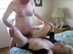 elder couple having vaginal sex