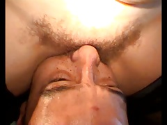 Hairy,  wet, pussy