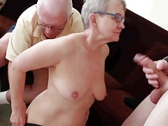 Elder husband fucked with youthfull stud
