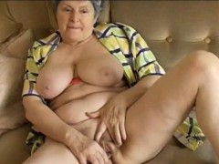 OmaPass Giant titted and curved grandmother