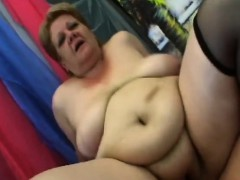 Huge baps granny  herself an orgasms