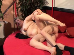 Horny BBW humid pussy smashed in various postures