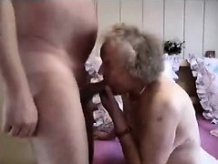 Granny having a good time