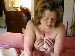 Gigantic Funbag Granny Riding Dick