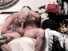 Mature duo having sex on camera