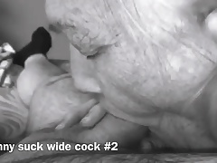 Grannie Suck wide Cock #2