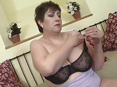 Inexperienced wife and mom with highly greedy vagina