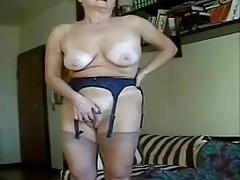 Grandma masturbation perfection