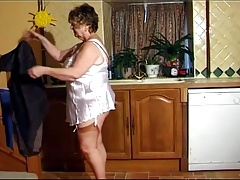 Beautiful BBW Granny Movie