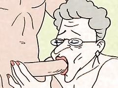 Comic - red-hot Grandma is horny