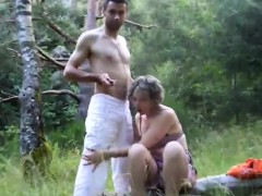 Daring gf loves making enjoy outdoors