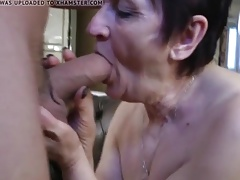 scorching grannies sucking dick compilation 5