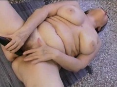 OmaPass  Homemade Granny Striptease Footage