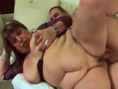 Fat  granny Dominica still loves fucking young guys