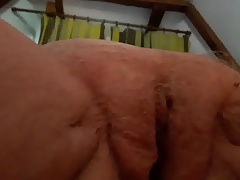 My 77 years older granny : pussy fuck close-up