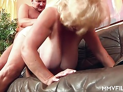 German Grandmother has Humungous Tits