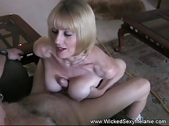 Tit-screwing and Jizm From Amateur Granny