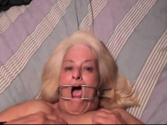 Brit homemade grannie BDSM
