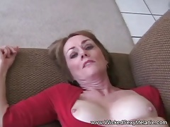 Amateur Granny 3some On