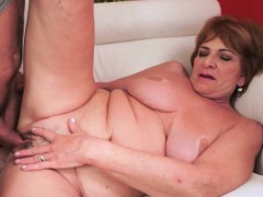 european granny plowed passionately