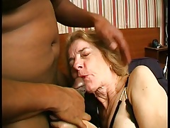 Grandmother fucked by BBC