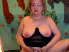 Unexperienced Granny Masturbate Off Grandpas Man meat