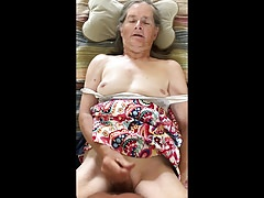 Grandma gives a quickie