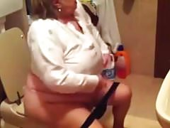 Grandmother in the wc