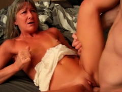 Scorching milf fuckfest and cumshot