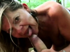 Sexy babe pleasured with monster dick