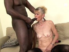 Grannie fucked stiff in ass by  she gets internal cumshot