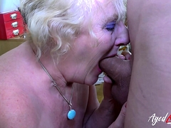 AgedLovE Mature Claire Knight Hardcore Footage