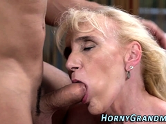 Doggystyle pounded grandmother