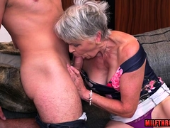 Hot milf  and cum-shot