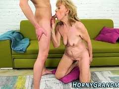 Bj liking old doll fucked