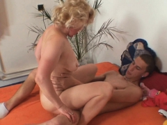 Mother in law taboo fuckfest behind wife's back