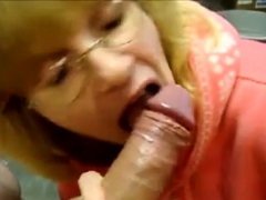 Blowjob Acquaintance gets Cum in her Facehole