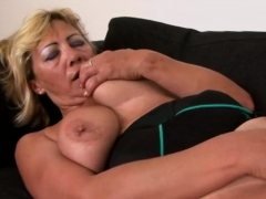 Busty gilf gets her cunt deflowered by bbc